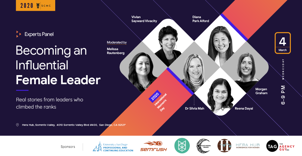 Becoming an Influential Female Leader (Women's Day 2020)